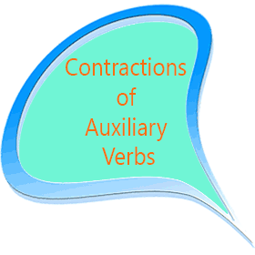 Contractions of Auxiliary Verbs Bahasa Inggris