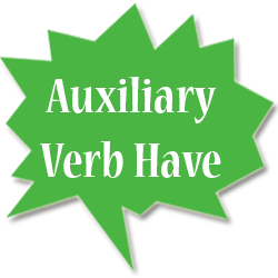 Auxiliary Verb Have Bahasa Inggris